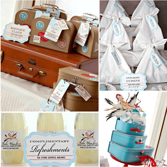 Airplane-Themed-Baby-Shower