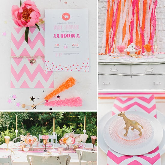 Luxe-Gold-Pink-Circus-Baby-Shower