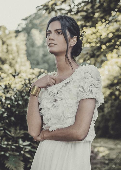 Laurent-Nivalle-La-mariee-aux-pieds-nus-Laure-de-Sagazan-Robes-de-mariee-Collection-2015-Robe-Allen-Top-Renan