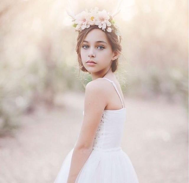 Vestidos de ensueño para las niñas de la boda