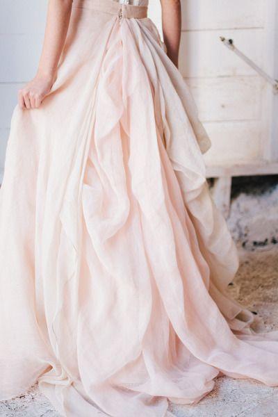 Falda rosa novia-Love Lovely