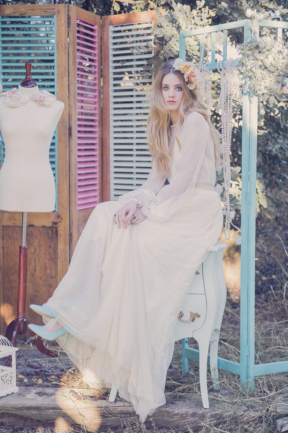Vestido  de novia romántico-Love Lovely