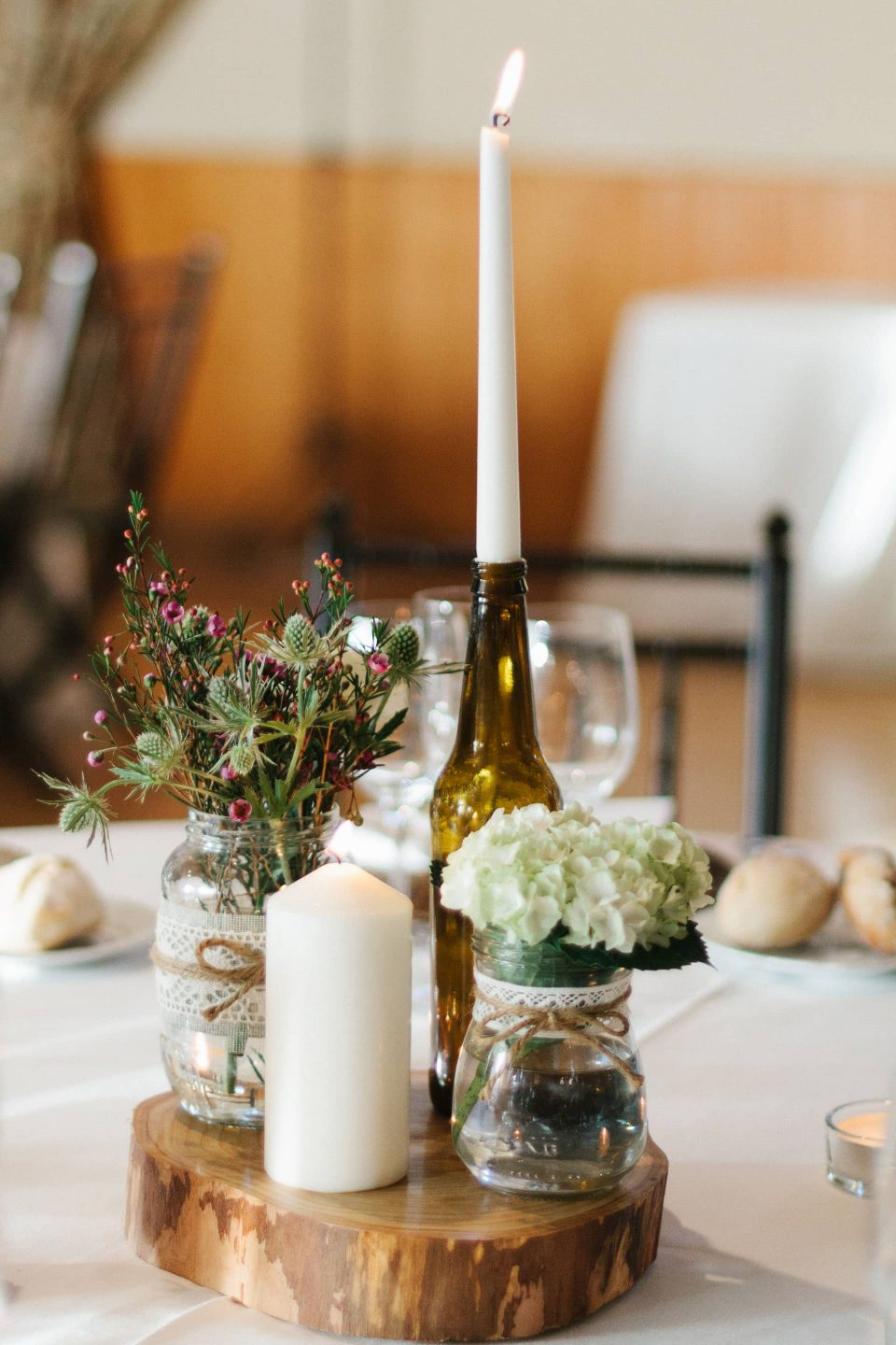 Centros de mesa boda-Love Lovely