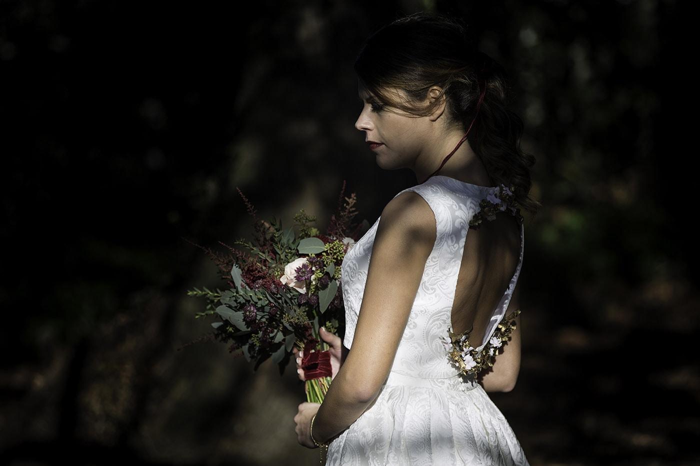 Vestido de novia corto-Love Lovely