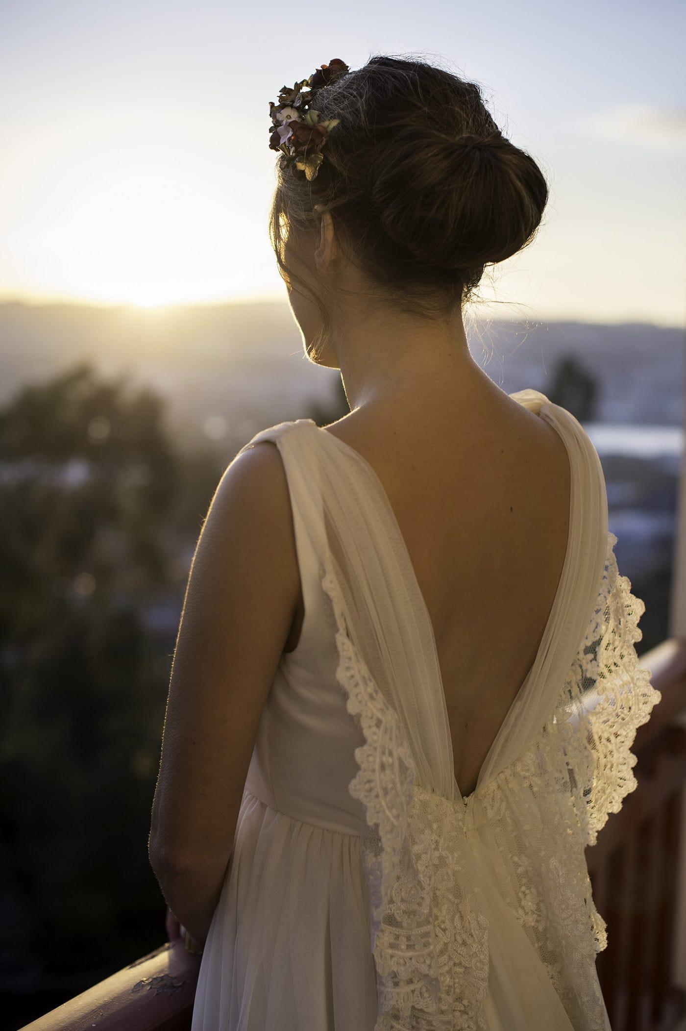 Escote espalda vestido de novia-Love Lovely