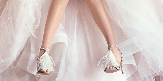 Jimmy Choo bride shoes-Love Lovely