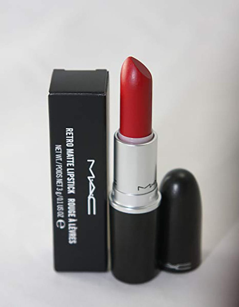make up, ruby woo labial