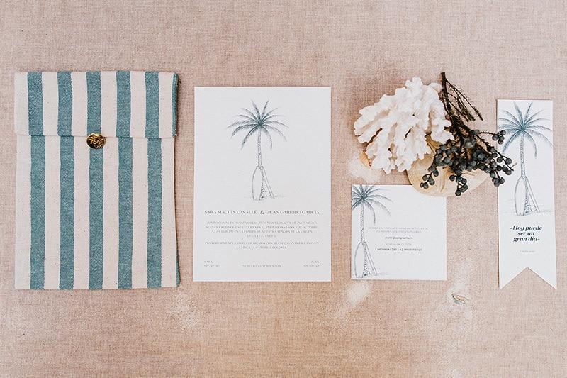 Papelerías para bodas originales