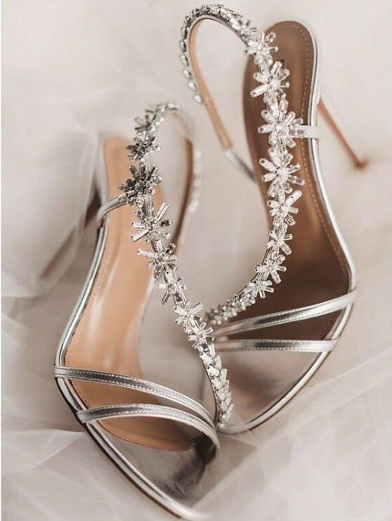 Zapatos aquazzura novia