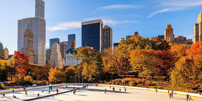 Lugares con encanto. New York