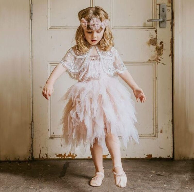 Vestido de niña de tutudumonde