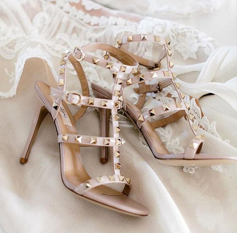 Zapatos Valentino de novia