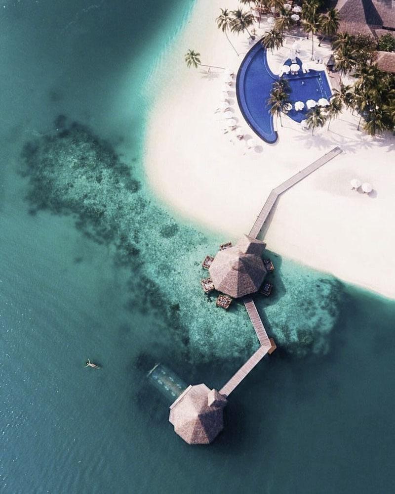 viaje de novios. Maldivas